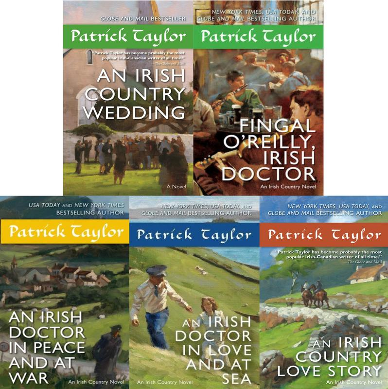 Image for IRISH COUNTRY Series by Patrick Taylor MASS MARKET PAPERBACK Collection 7-11 by Patrick Taylor