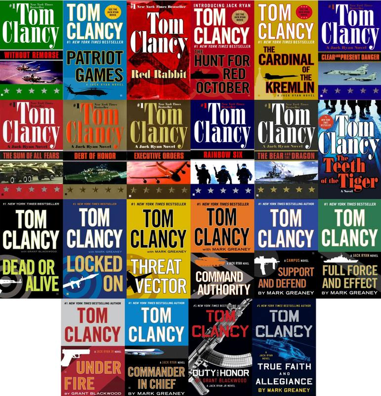 Image for TOM CLANCY Political Military Thriller Collection JACK RYAN UNIVERSE Books 1-22 by Tom Clancy