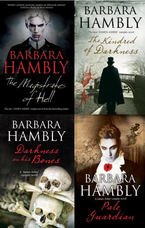 Image for JAMES ASHER VAMPIRE Paranormal Series Barbara Hambly LARGE TRADE PAPERBACKS 4-7 by Barbara Hambly