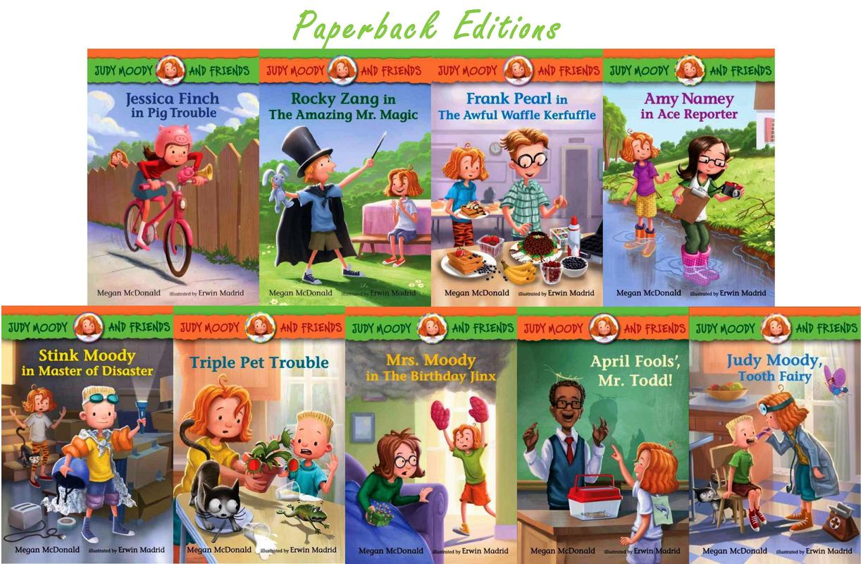 Image for Judy Moody Friends 1-9 CP by Megan McDonald