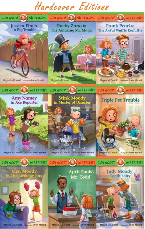 Image for Judy Moody Friends HARDCOVER 1-9 HC by Megan McDonald