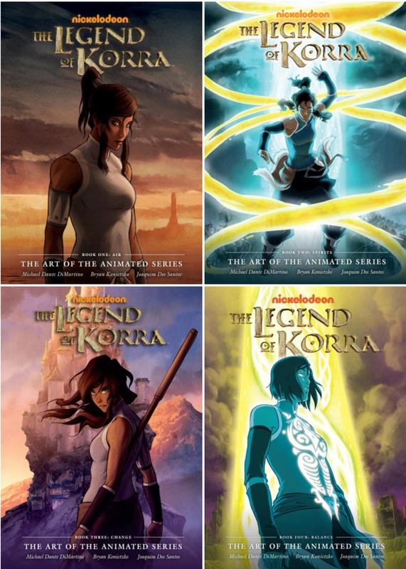 Image for Legend of Korra ART OF THE ANIMATED SERIES 1-4 HC