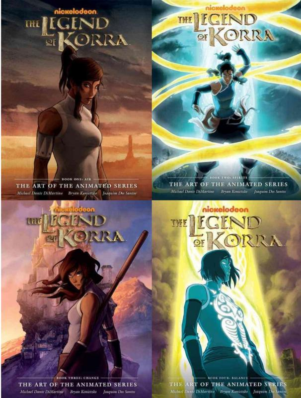 Image for Legend of Korra The Art of the Animated Series Books 1-4 HC