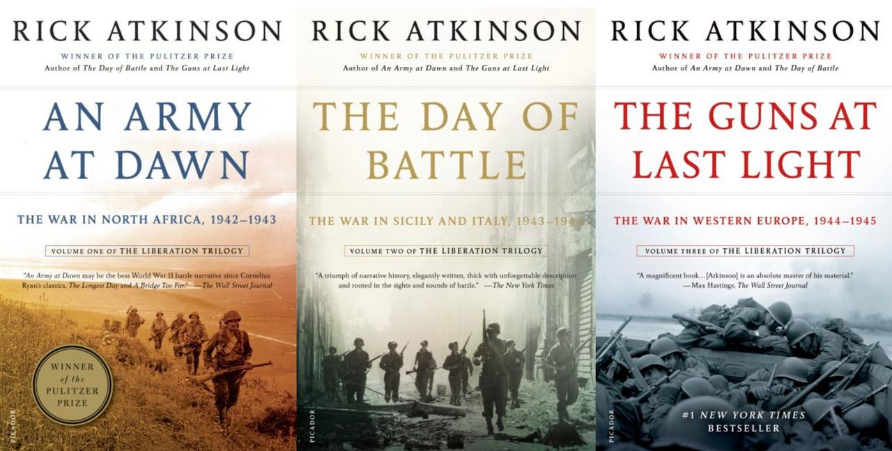 Image for LIBERATION TRILOGY World War II Military History Series by Rick Atkinson 1-3 by Rick Atkinson