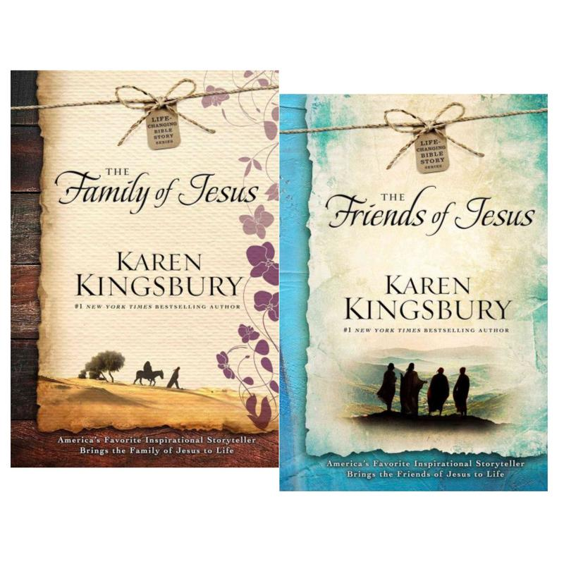 Image for LIFE-CHANGING BIBLE STORIES Devotional Series by Karen Kingsbury Books 1 & 2 by Karen Kingsbury