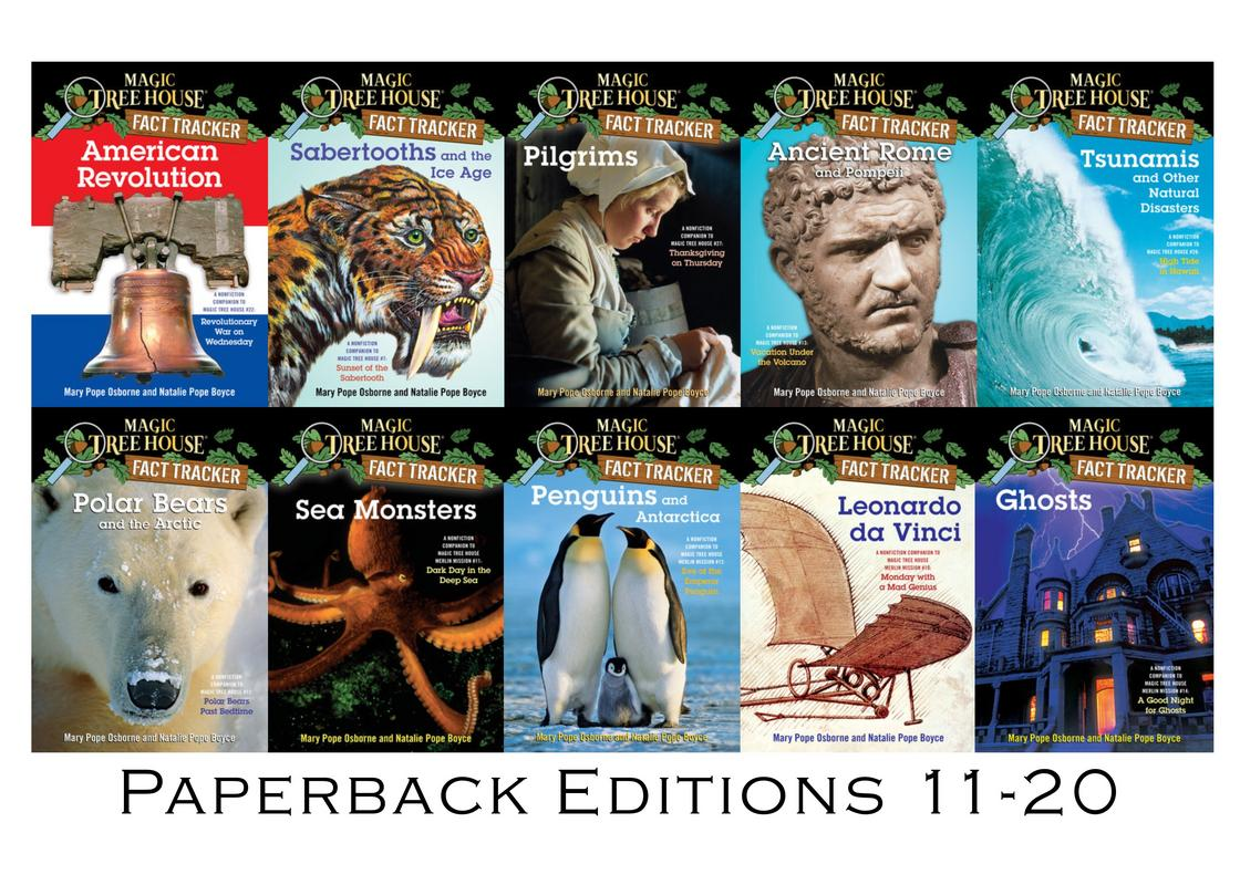Image for Magic Tree House FACT TRACKERS by Mary Pope Osborne Set of Books 11-20 by Mary Pope Osborne
