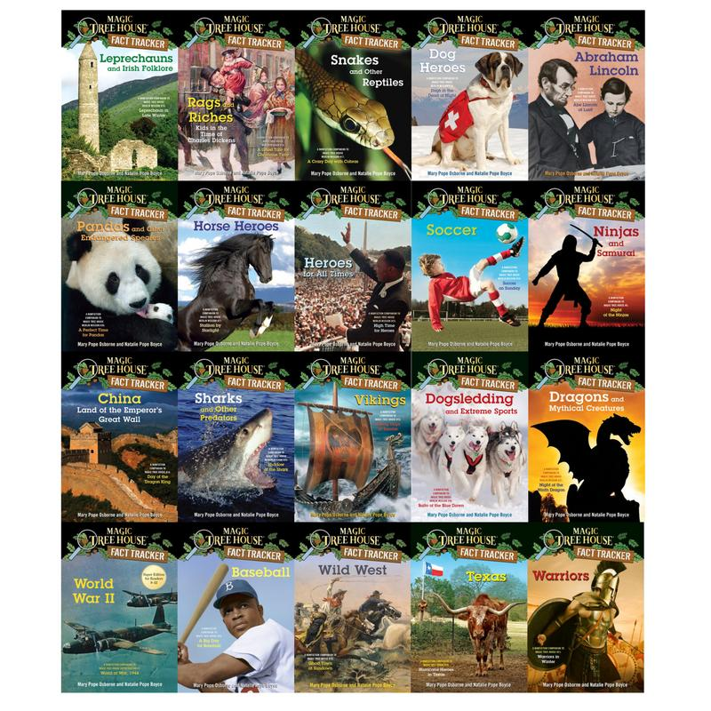 Image for Magic Tree House FACT TRACKERS by Mary Pope Osborne Collection Set Books 21-40 by Mary Pope Osborne