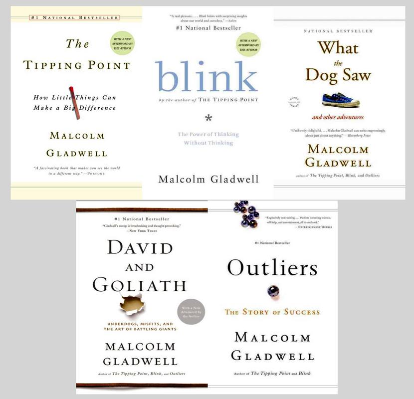 Image for MALCOLM GLADWELL Business Collection Set of 5 Success Driven PAPERBACK Titles by Malcolm Gladwell