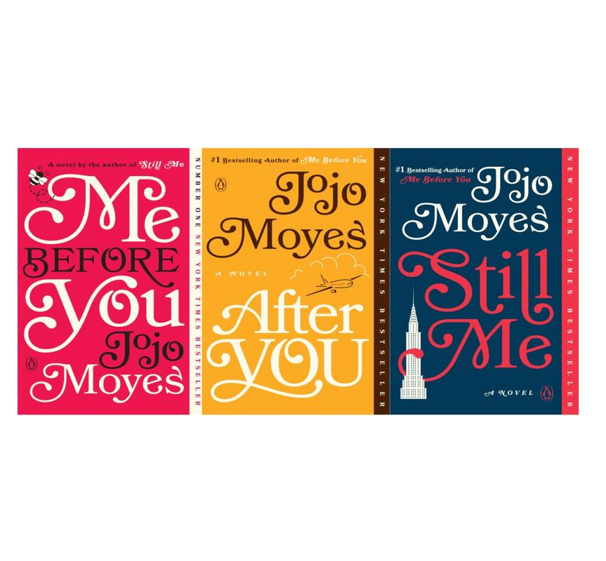 Image for ME BEFORE YOU Trilogy Series by Jojo Moyes LARGE TRADE PAPERBACK Book Set 1-3 by Jojo Moyes