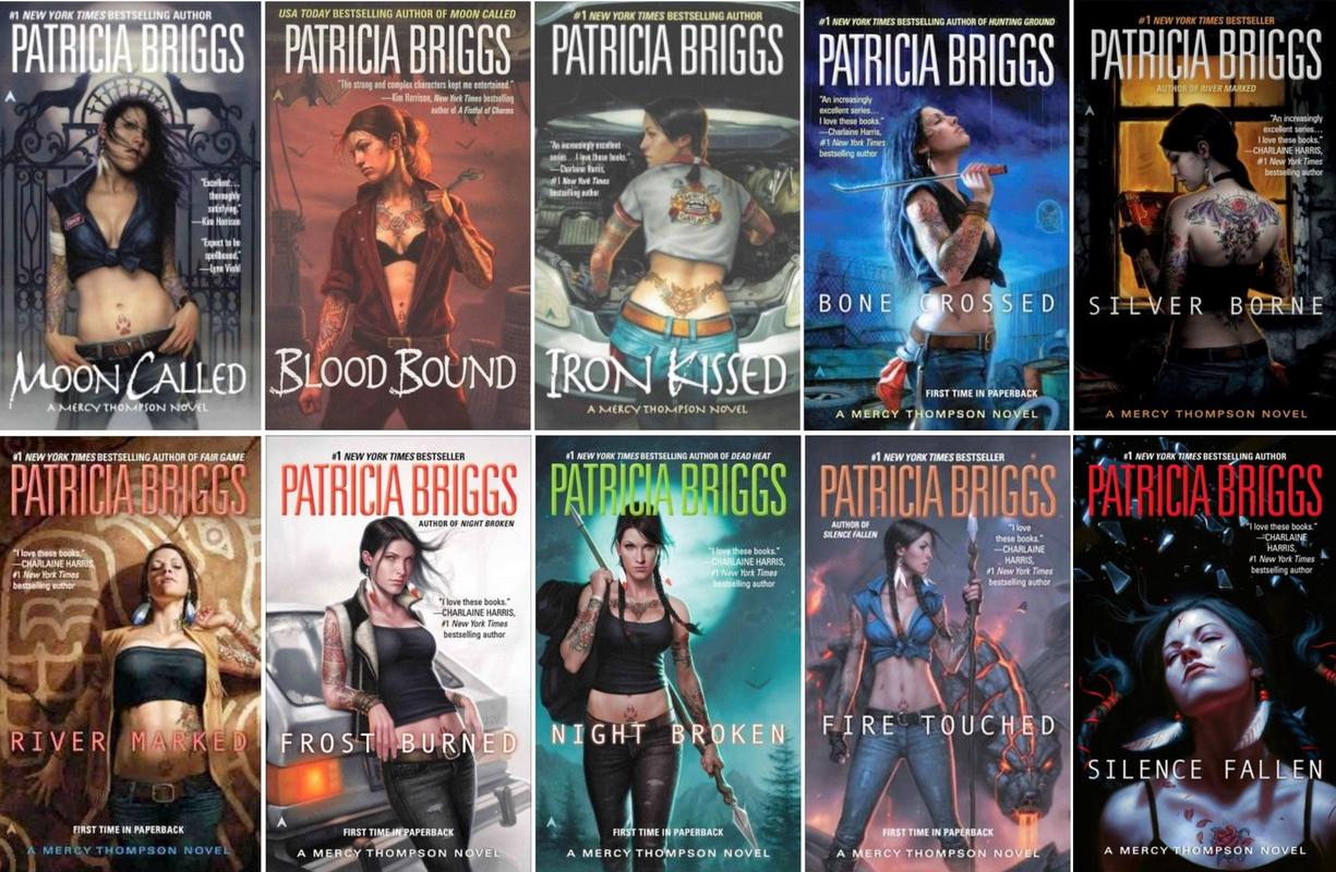 Image for MERCY THOMPSON Paranormal Fantasy Series Set of Mass Market Paperbacks 1-10 by Patricia Briggs