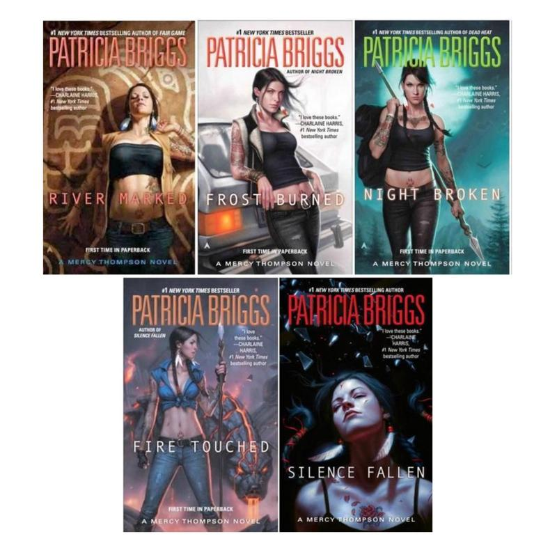 Image for MERCY THOMPSON Fantasy Series by Patricia Briggs Set of Paperback Books 6-10 by Patricia Briggs