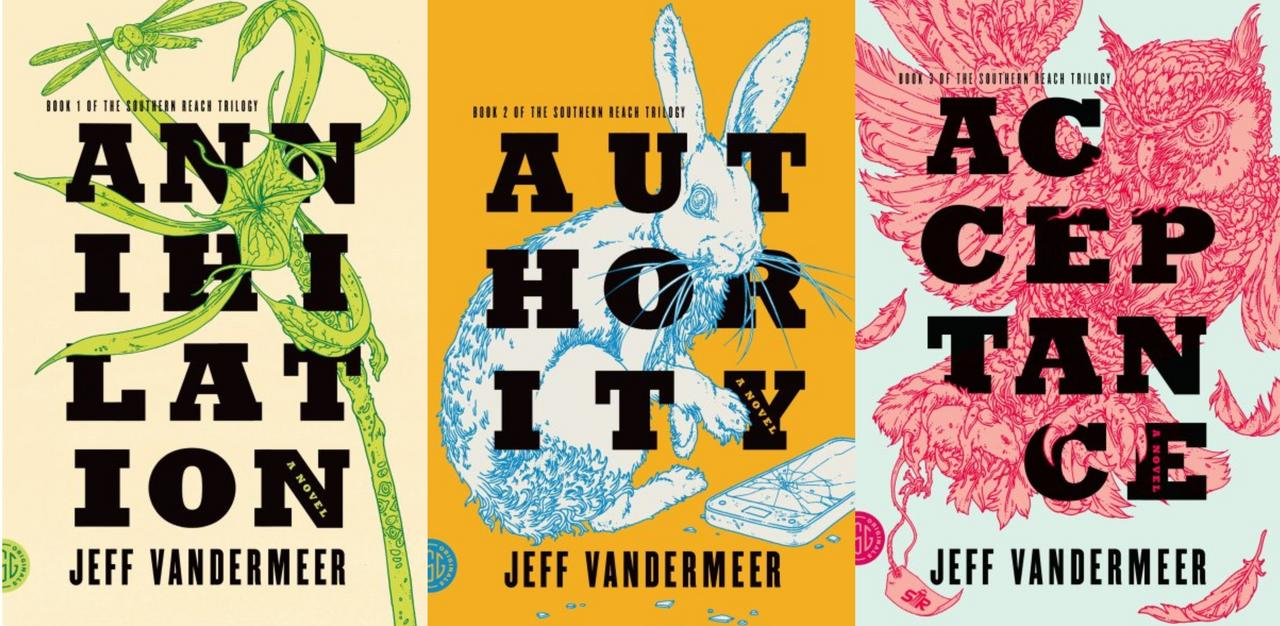 Image for Jeff VanderMeer SOUTHERN REACH TRILOGY Annihilation Acceptance Authority Set 1-3 by Jeff VanderMeer