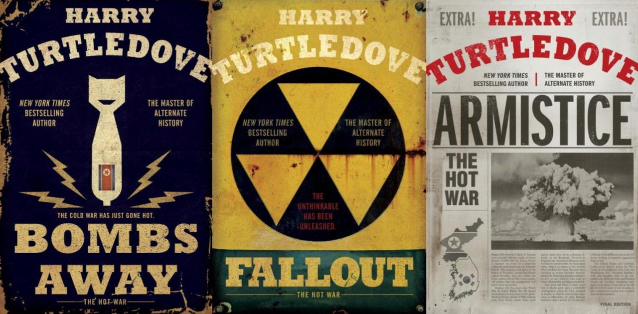 Image for Harry Turtledove THE HOT WAR Alternative History Series HARDCOVER Set Books 1-3 by Harry Turtledove