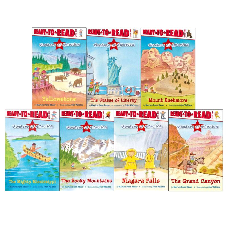 Image for Wonders of America LEVEL 1 READERS Collection of 7 PAPERBACK Titles by Marion Dane Bauer